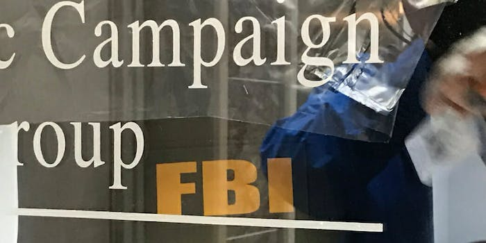 The FBI has executed a search warrant at an office of the GOP fundraising and consulting firm in Annapolis.