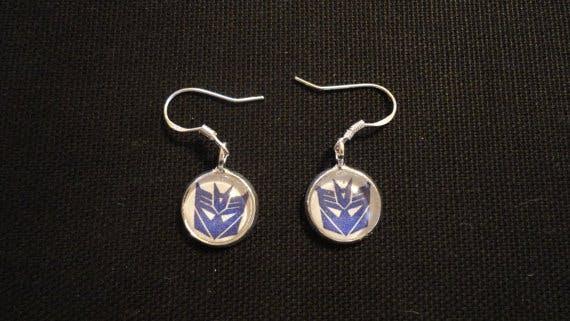 Transformers earrings Etsy