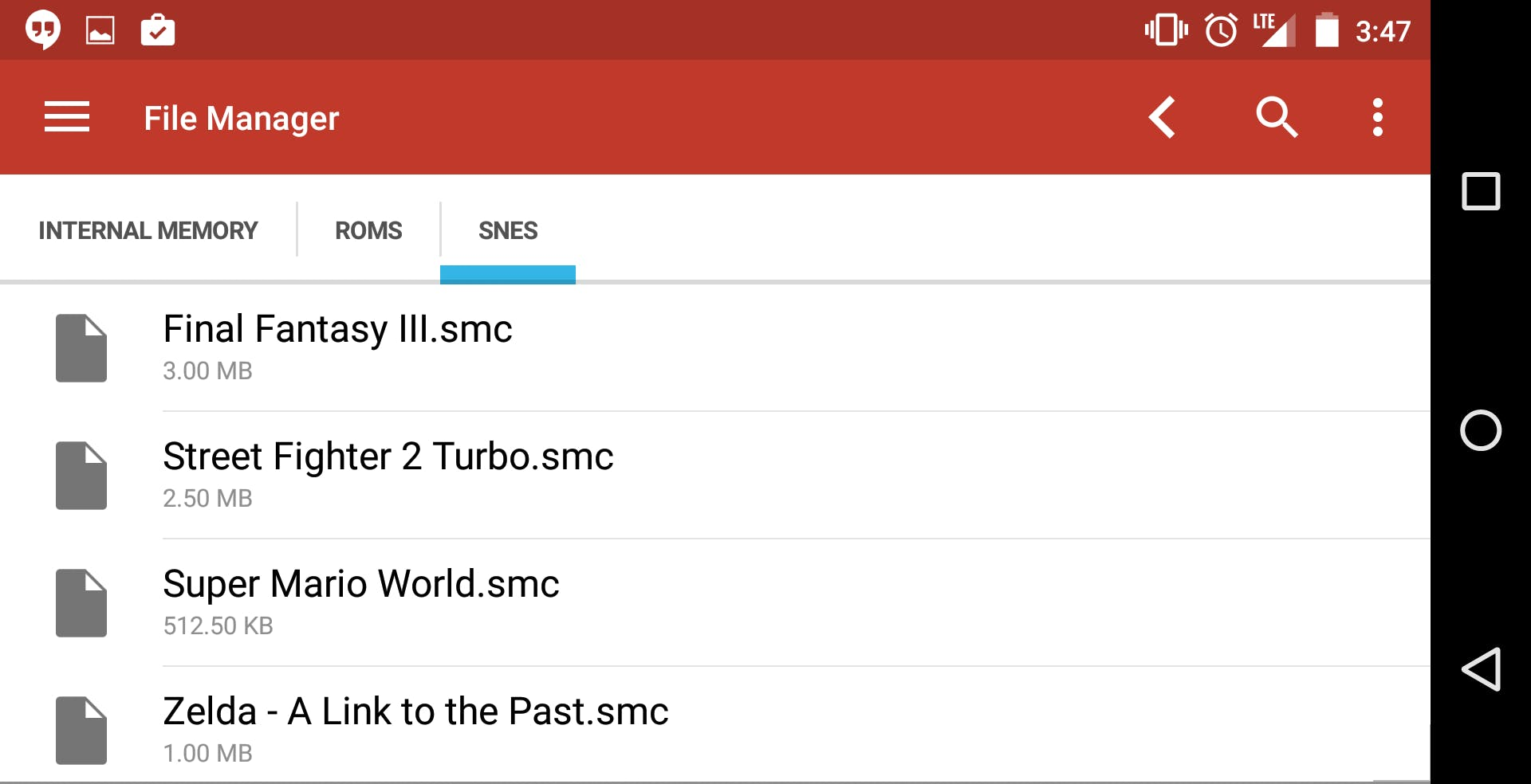 A free Android file manager