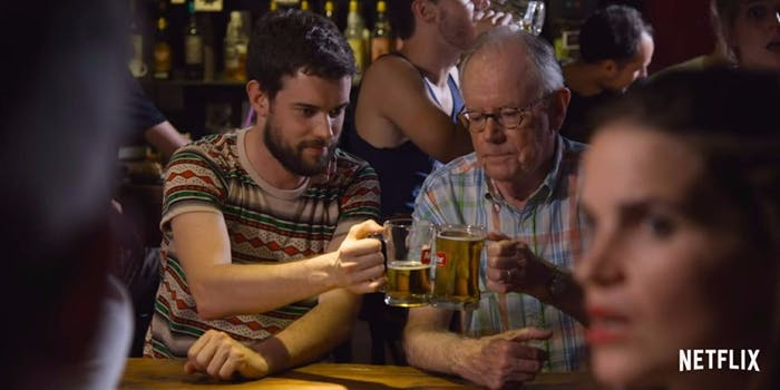 netflix docuseries Jack Whitehall Travels with My Father