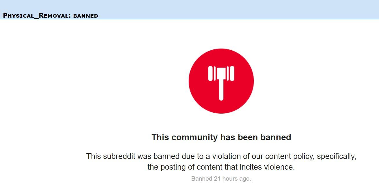 reddit ban alt-right white nationalist group charlottesville