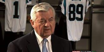 Jerry Richardson workplace misconduct Panthers