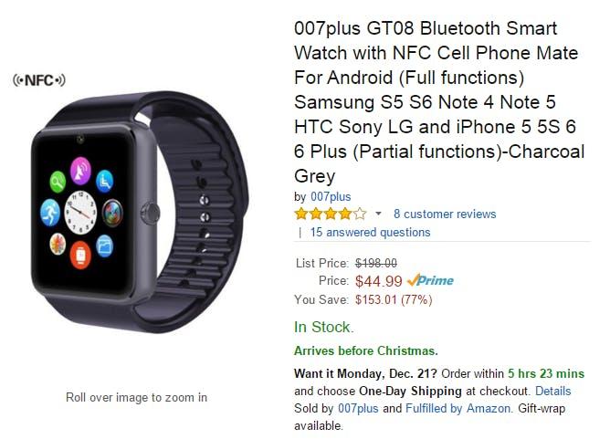 Um, that's not an Apple Watch