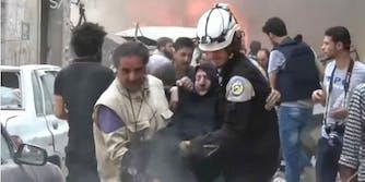 Syria attack bombing
