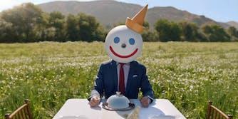 jack in the box fast food mascot