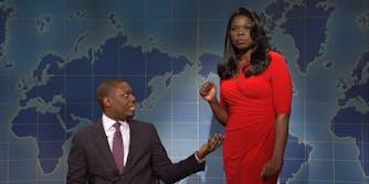Omarosa Manigault SNL Leslie Jones