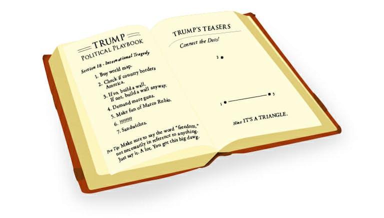 donald trump's playbook