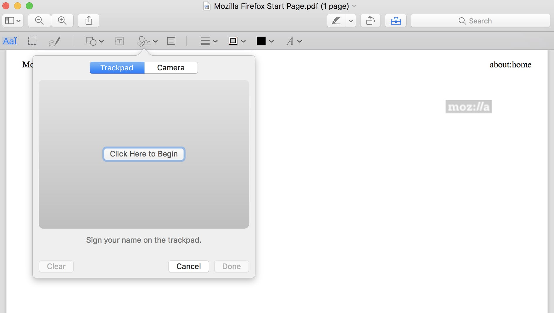 how to edit a pdf : sign a pdf