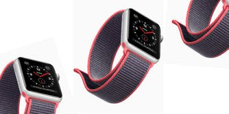 Apple Watch Series 3 with new band