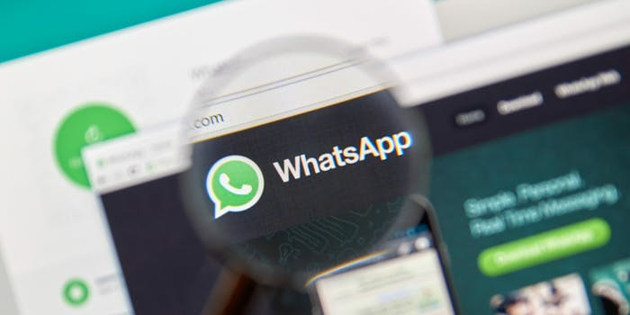 whatsapp facebook application