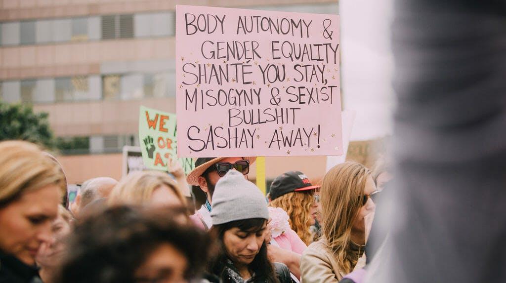 women 2017 strike protest 2018