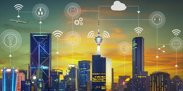 smart city connected iot