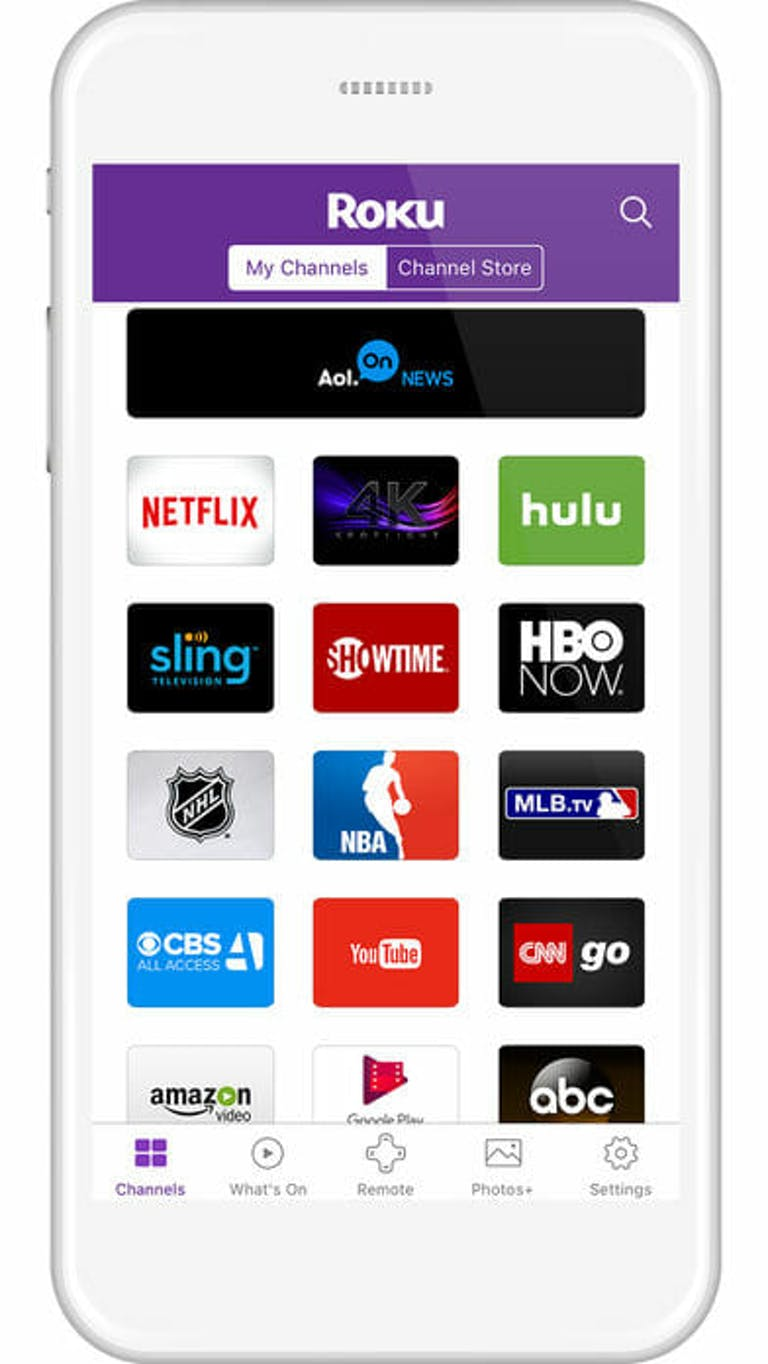 smart tv keyboard : roku app ios