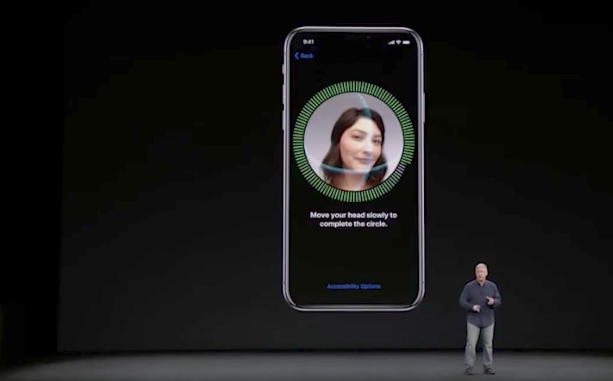 Apple's iPhone X Face ID fail