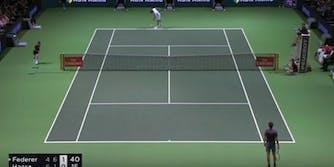 Roger Federer Robin Haase