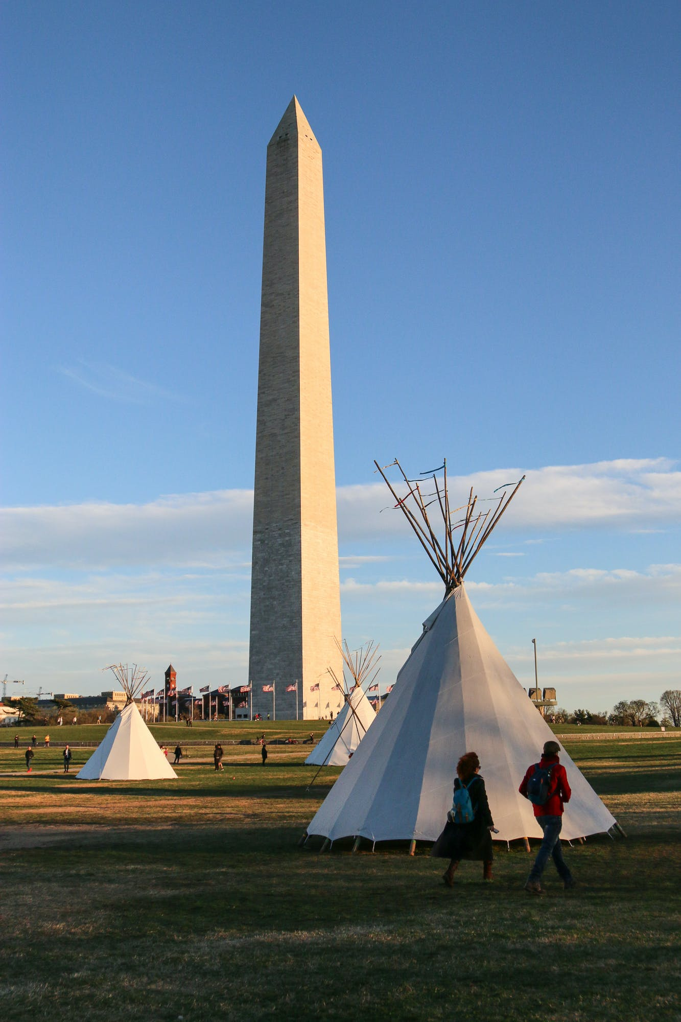 Native Nations Rise protest