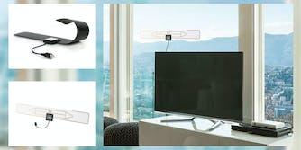 Flat indoor HDTV antenna
