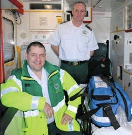 The paramedics who delivered the baby.