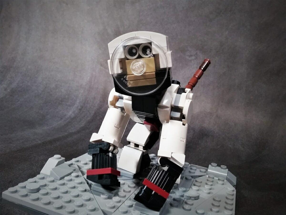astronaut monkey lego