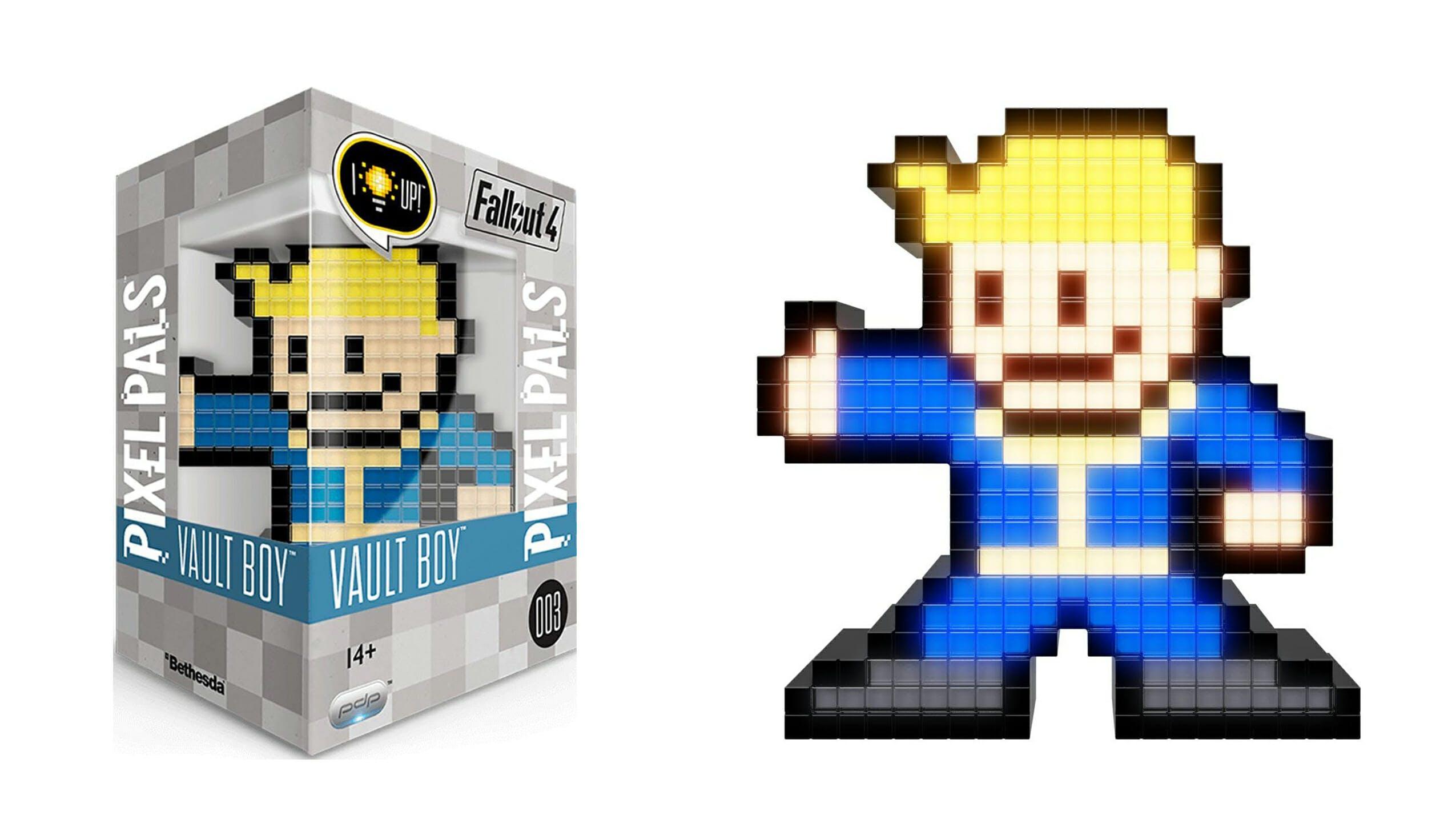 flashy pixel figure