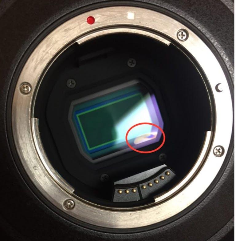 camera eclipse damage nd filter