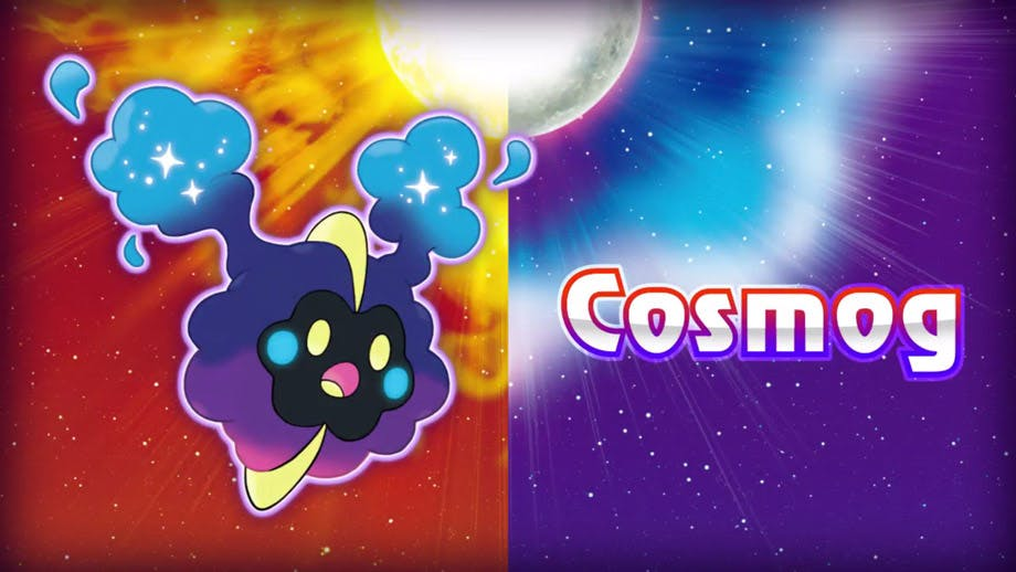 rare pokemon sun and moon: cosmog