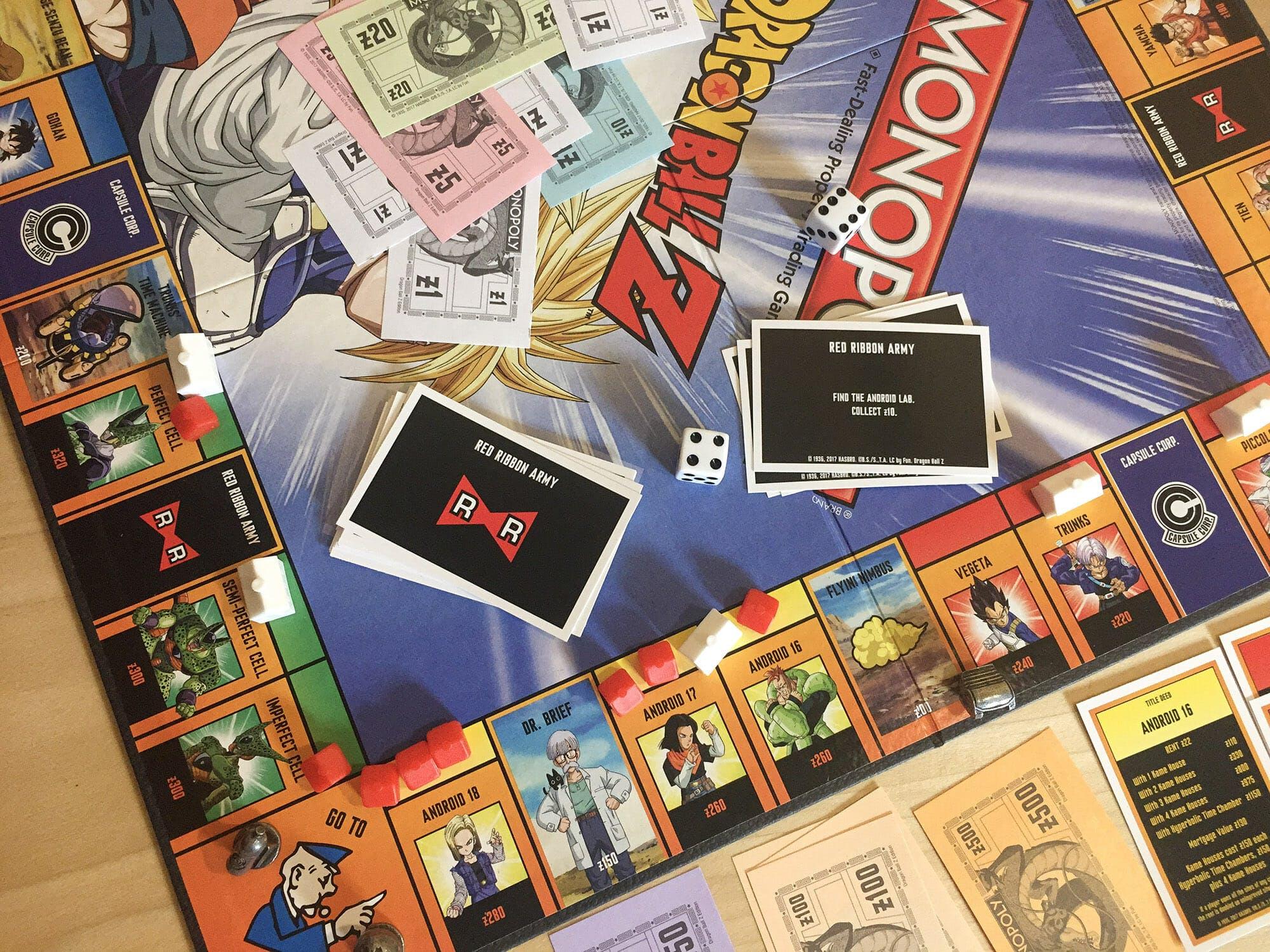 dragon ball z monopoly 1