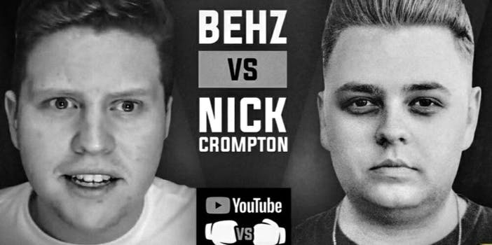 Nick Crompton vs. Behzinga YouTube boxing match