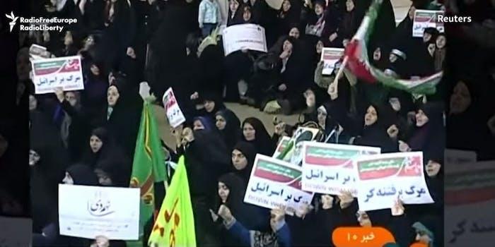 Iran protests Telegram Instagram