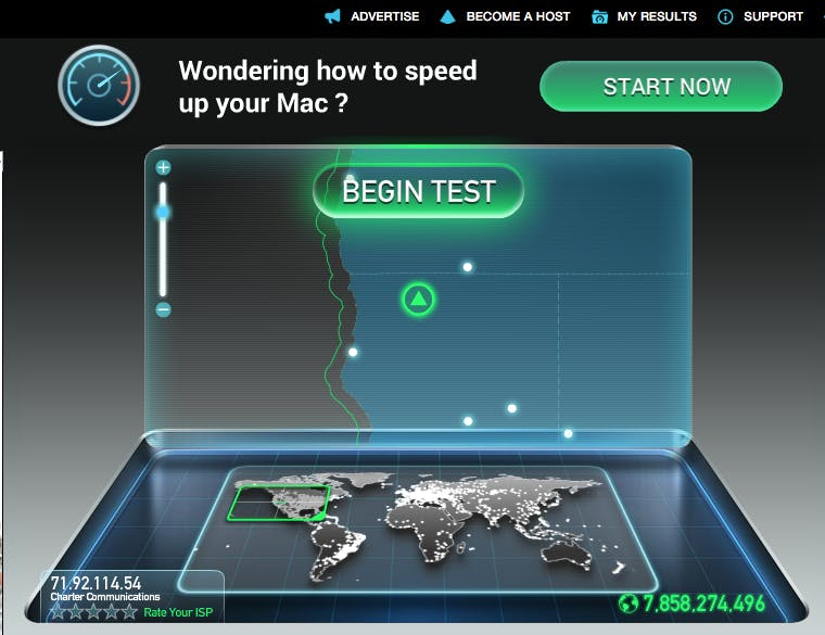 how to get faster wi-fi: start with a speed test