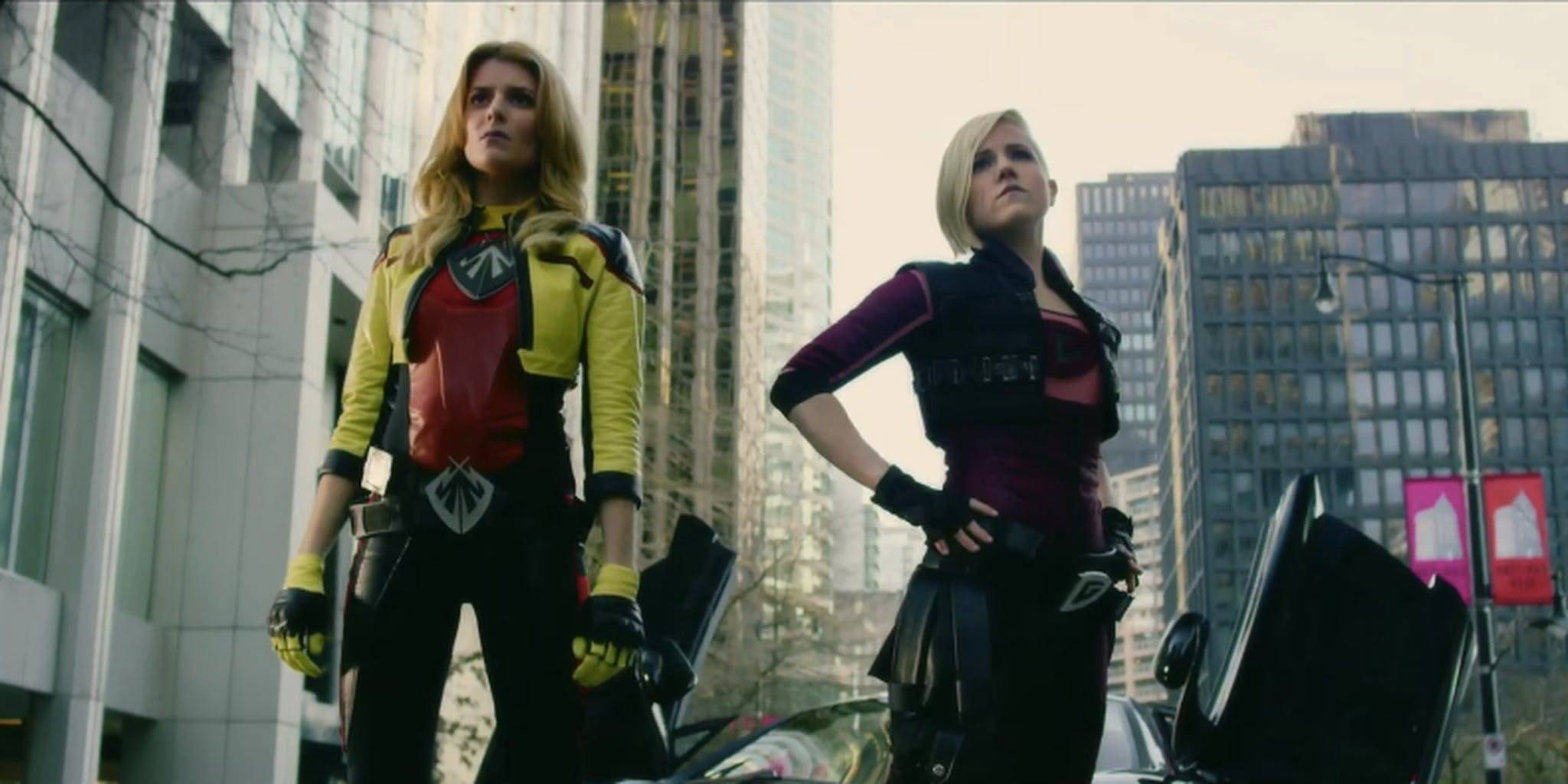 Grace Helbig and Hannah Hart in 'Electra Woman and Dyna Girl'