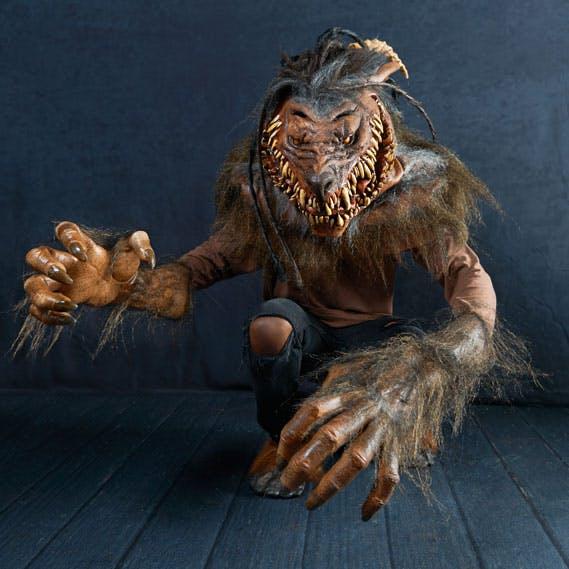 Snarling Werewolf