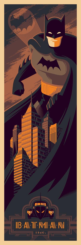 Batman (1940's Era), 12? x 36,? Edition of 275