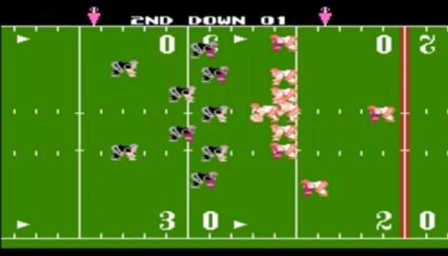 nes games: Tecmo Bowl