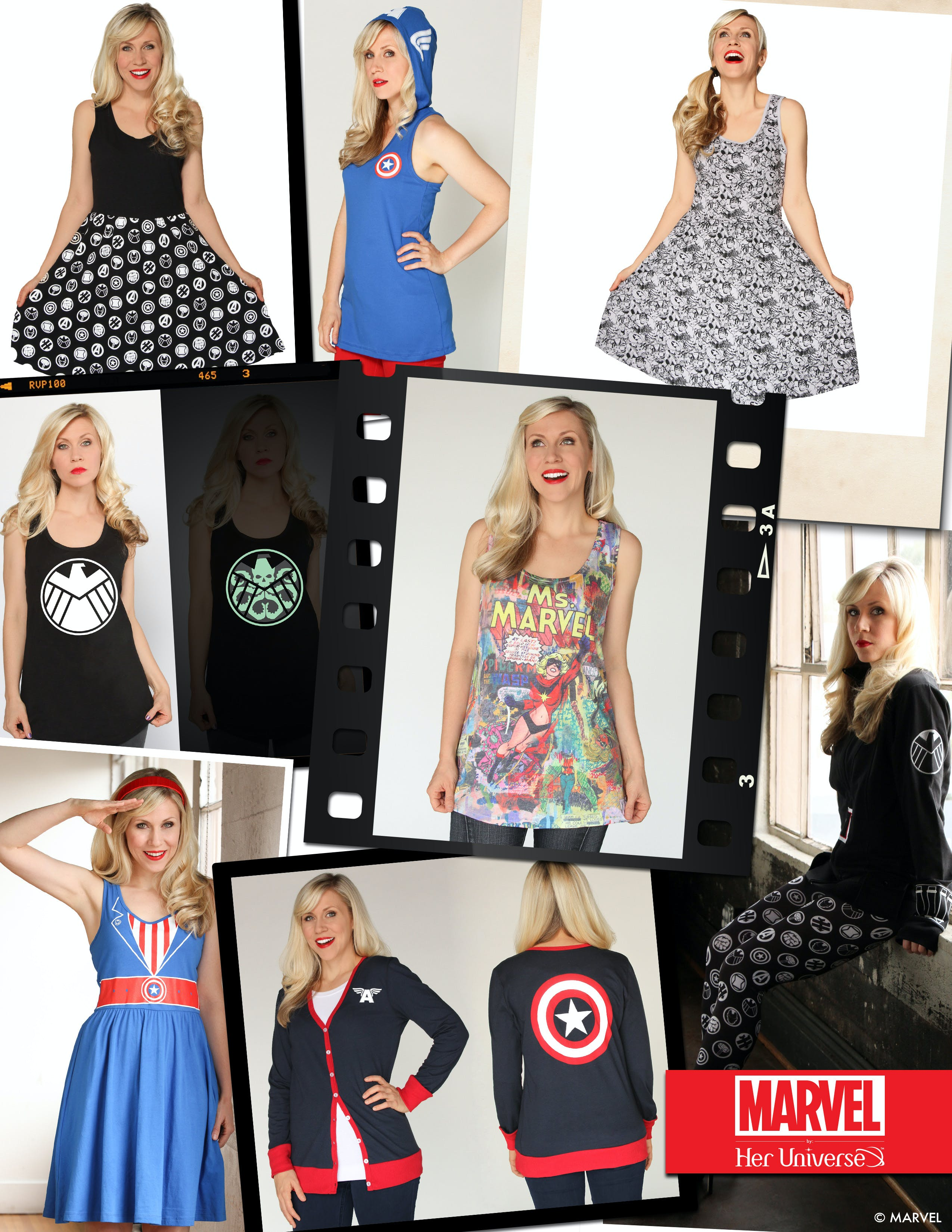 Her Universe new Marvel clothing line.