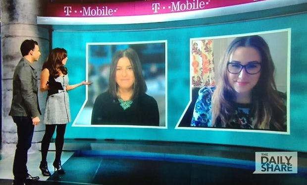 """Here I am talking about Tinder with absolutely no hostility in my voice on HLN's """"The Daily Share"""" a few weeks ago. I would not be so kind today."""