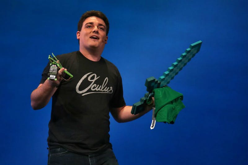 Palmer Luckey, during his Oculus Connect 2 keynote.