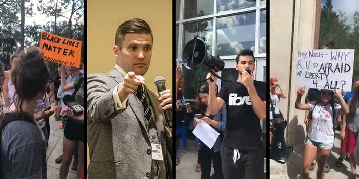 No Nazis at UF has protests planned ahead of white nationalist Richard Spencer's speech on Thursday.