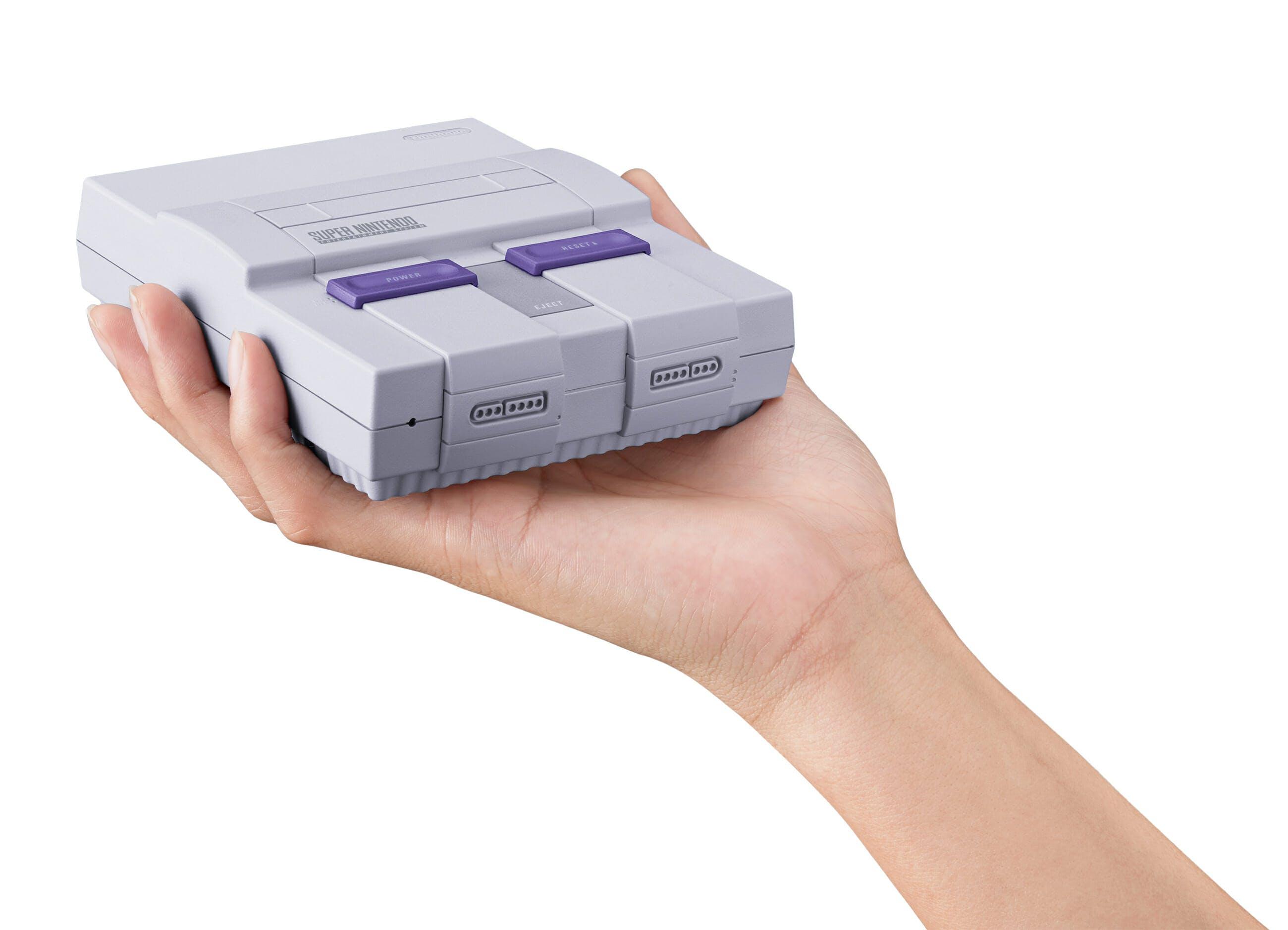 snes mini : Super Nintendo Entertainment System