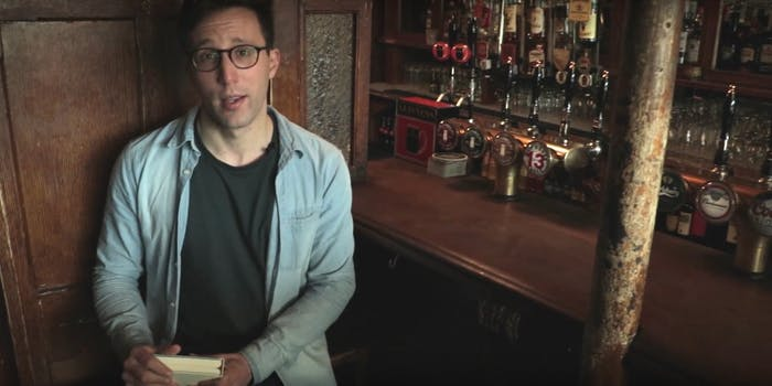 cauldron wizarding pub