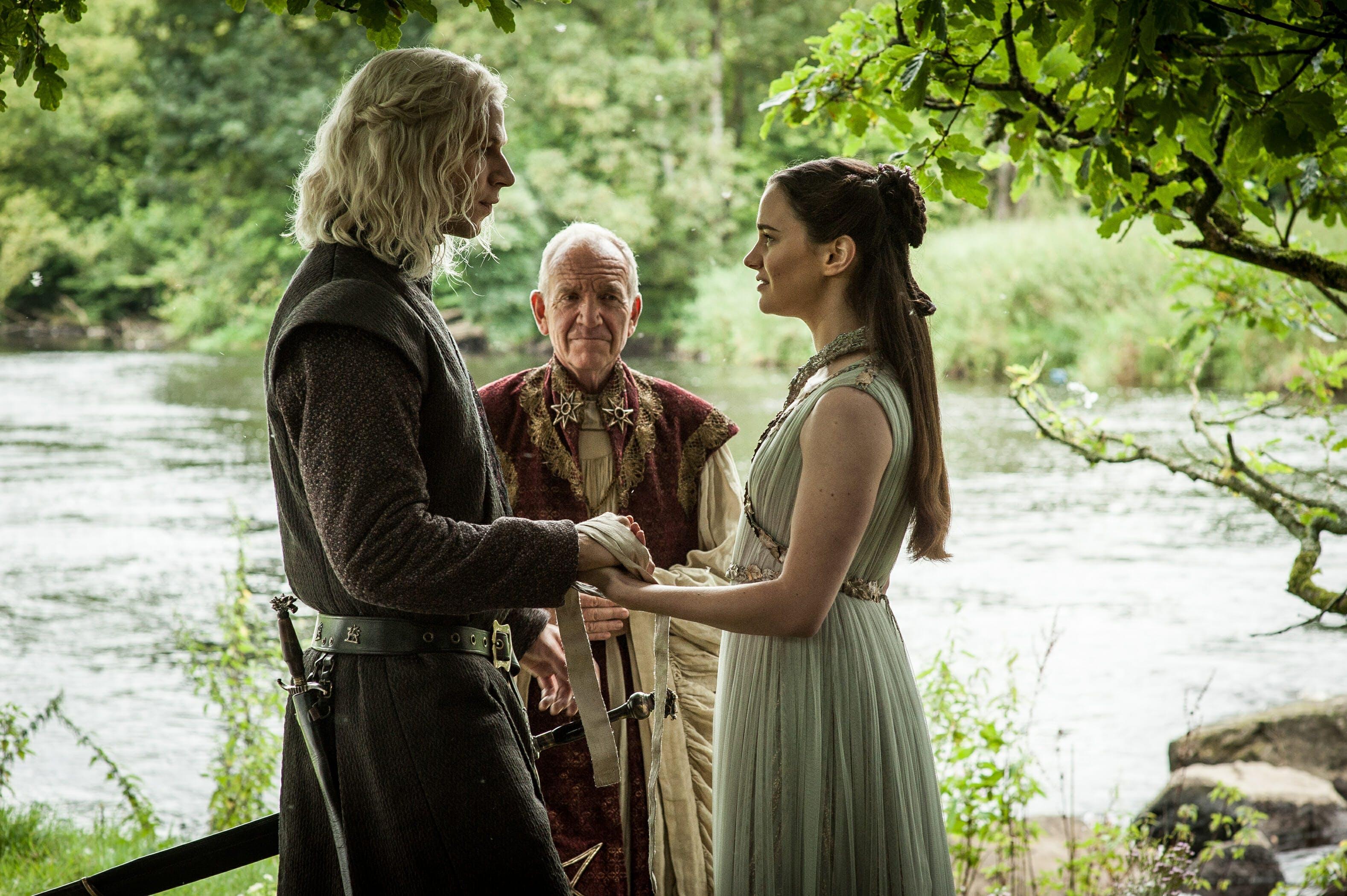 rhaegar Targaryen and lyanna stark wedding