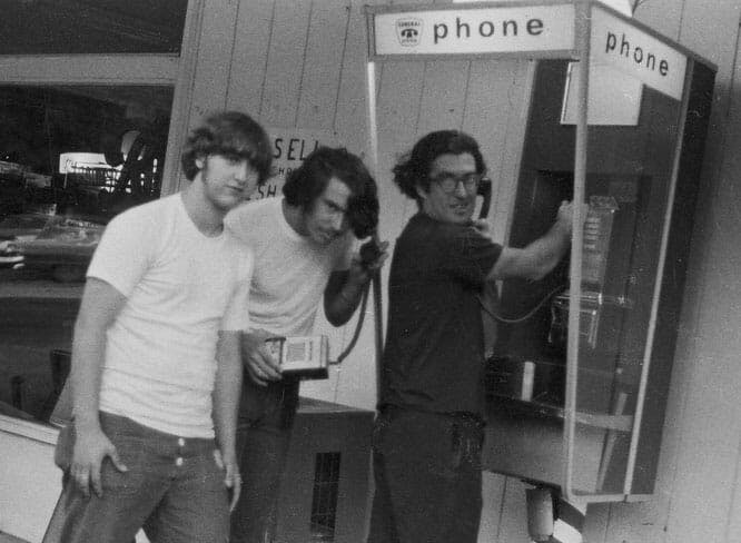 John Draper, better known as Captain Crunch, circa 1974