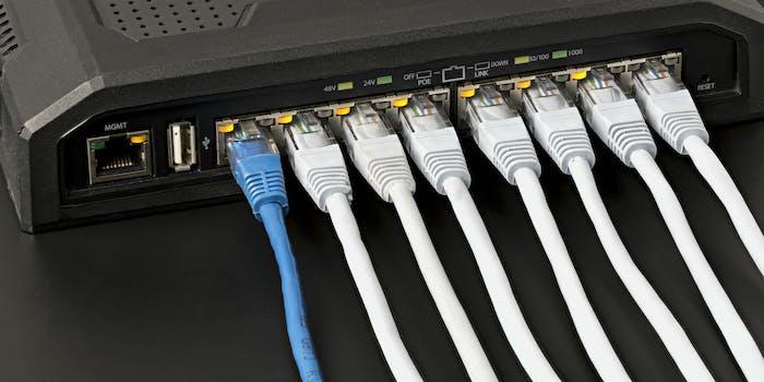 router ethernet internet