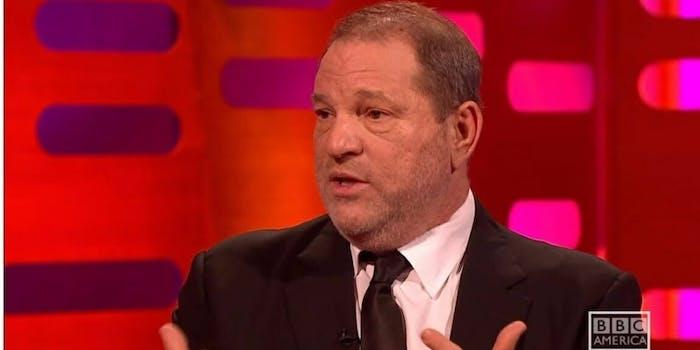 Harvey Weinstein sexual harassment accusations