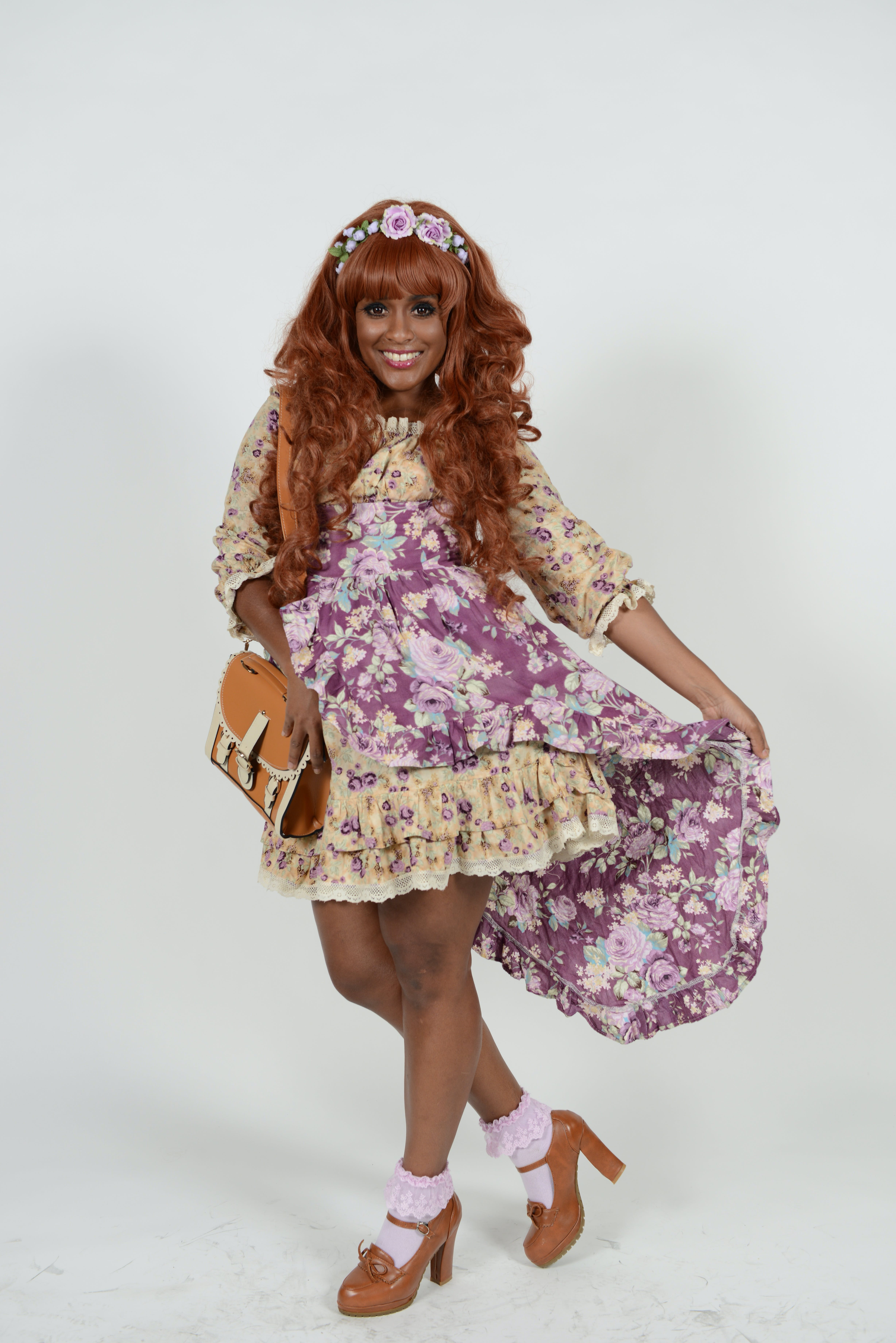 Ashphord Jacoway modeling a design by Doll Delight