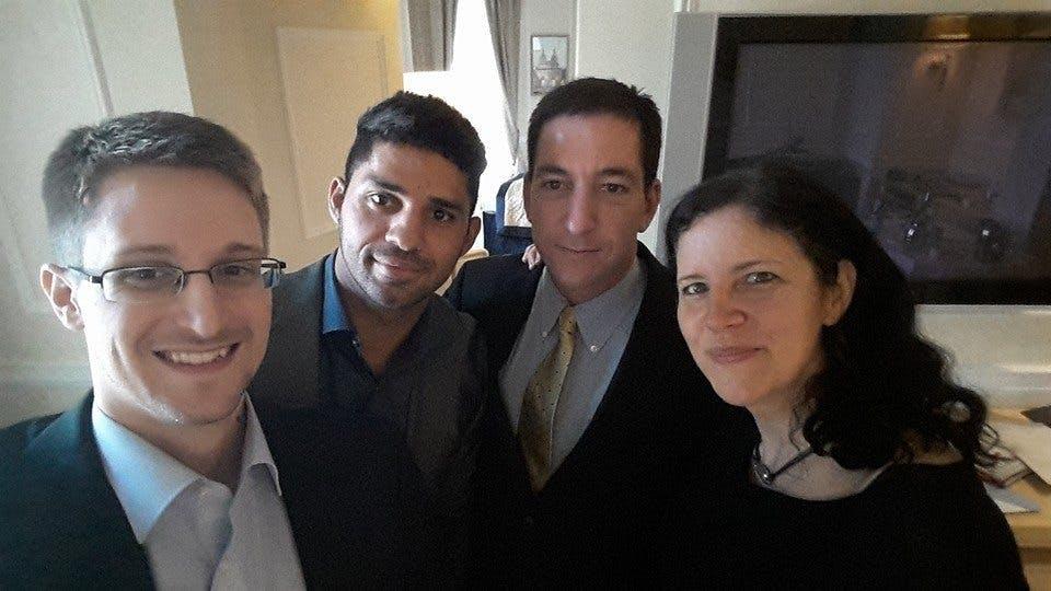 Snowden, David Miranda, Greenwald, Poitras