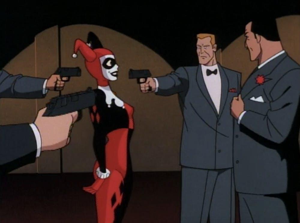 batman animated series episodes : harlequinade