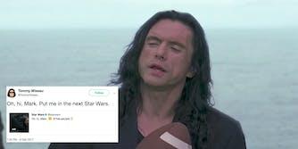Tommy Wiseau in Star Wars