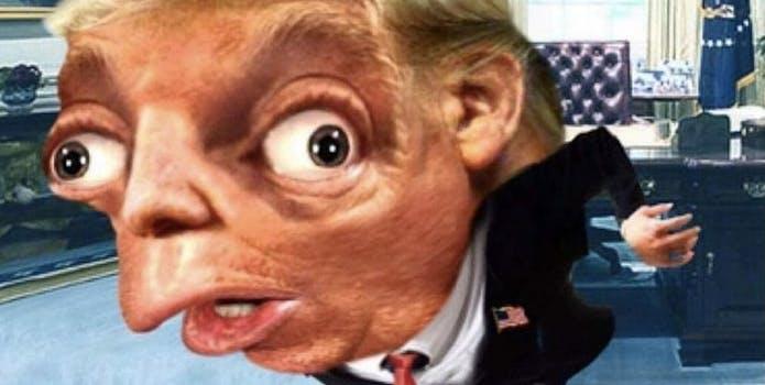 mocking spongebob meme donald trump