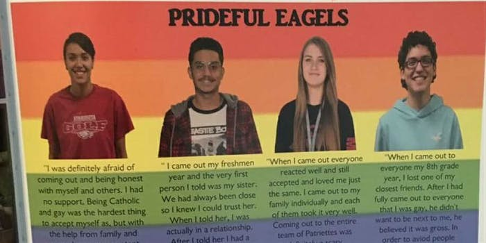 LGBTQ page prideful eagles